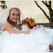 Beautiful bride at Bluff Mountain Inn