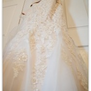 image of a beautiful wedding dress
