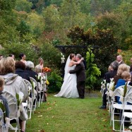 Wedding ceremony in the Smoky Mountains