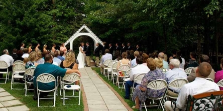 Ceremony at Destination Wedding in Gatlinburg