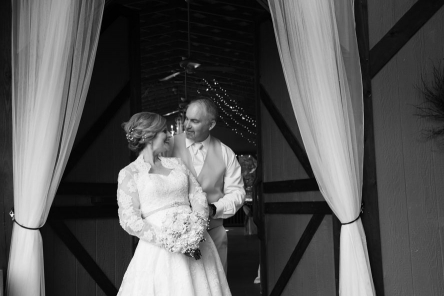love, lights, barn, barn wedding, rustic wedding, black and white, Tennessee wedding, mountain wedding