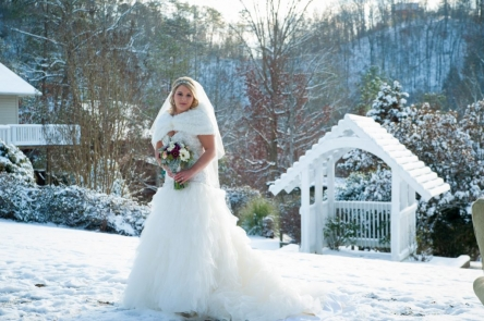 Wedding Gown Ideas You\'ll Love in Cool Weather » Bluff Mountain